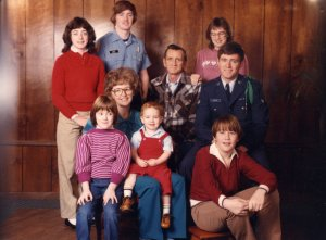 The Martin Family, waaay back when.