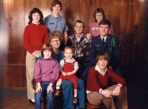 The Martin Family, waaay back when.